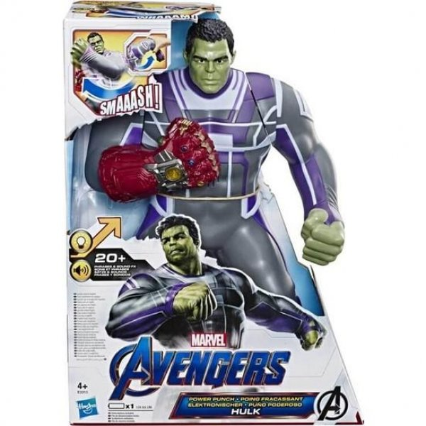 HASBRO AVENGERS POWER PUNCH HULK