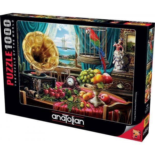 PUZZLE 1000 PARÇAGRAMAFON / STILL LİFE WITH FRUIT