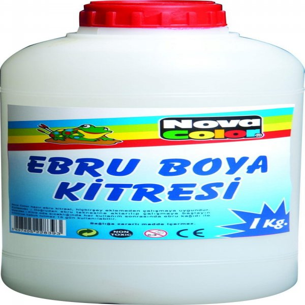 N.Color Ebru Boya Kitresi 1000 Ml.