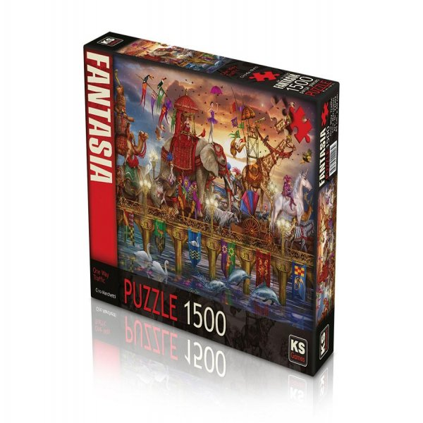 ONE WAY TRAFFİC 1500 PUZZLE
