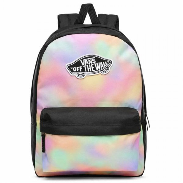 VANS REALM BACKPACK  AURO WASH-SİYAH