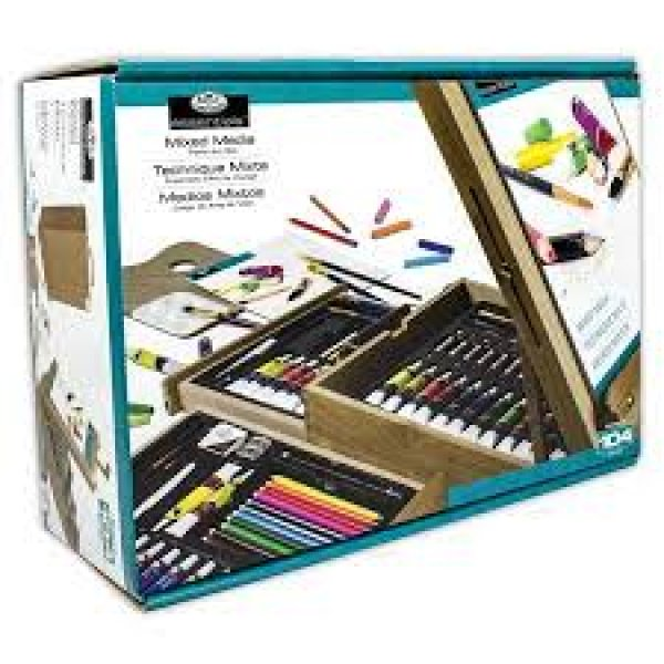 ROYAL BRUSH MFG Easel Artist Set104  parça