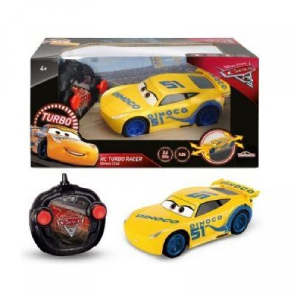 SIMBA RC CARS 3 TURBO RACER CRUZ RAMIREZ
