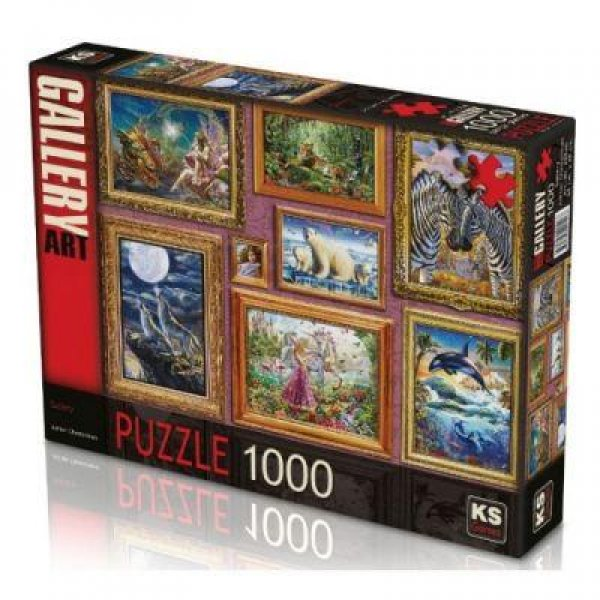 20549 PUZZLE 1000 GALLERY