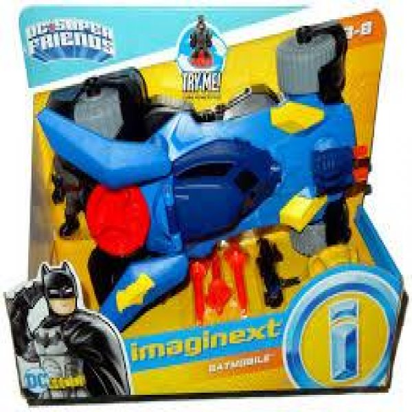 IMAGINEXT DC SÜPER FRENDS DELÜKS BATMOBIL