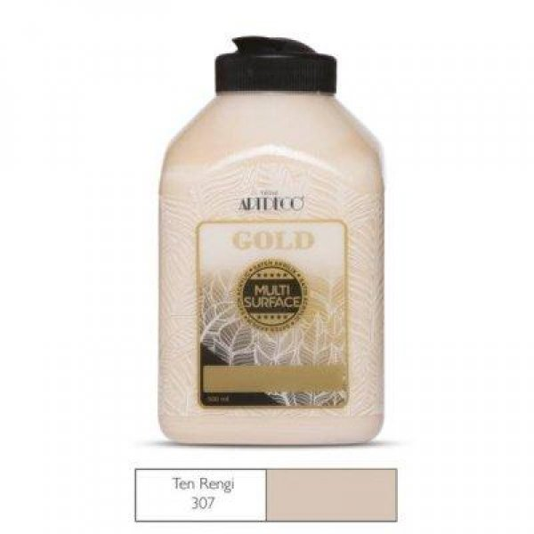 ARTDECO GOLD AKRİLİK BOYA 500ML TEN RENGİ