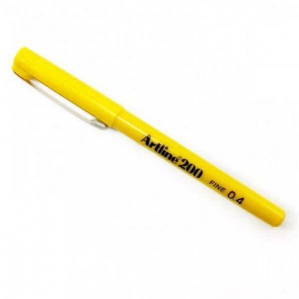 ARTLINE 200 FINE WRİTİNG PEN YELLOW
