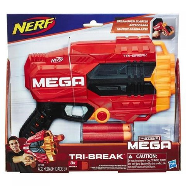 E0103TRI NERF MEGA TIRI-BREAK