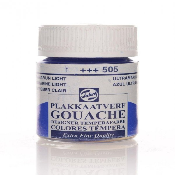 GOUACHE JAR 16 ML  ULTRAMARINE LT,