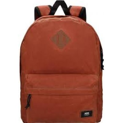 VANS KREMİT KAHVE  OLD SKOOL PLUS BACKPACK SIRT ÇANTASI 3 GÖZLÜ