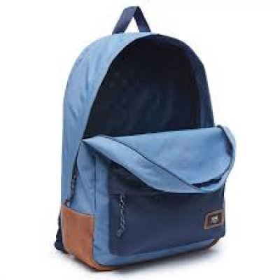 VANS BUZ MAVİSİ OLD SKOOL PLUS BACKPACK SIRT ÇANTASI 3 GÖZLÜ
