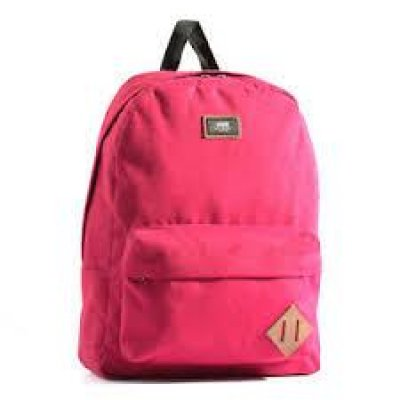 VANS DÜZ BORDO OLD SKOOL 2 BACKPACK SIRT ÇANTASI 2 GÖZLÜ