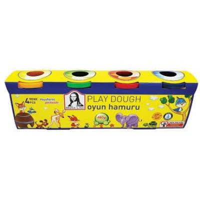 Monalisa Play Dough 4x120 gr