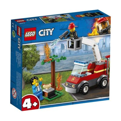 ADORE LEGO CITY BARBECU BURN OUT
