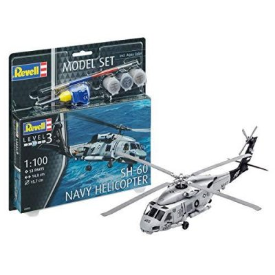 ADORE REVELL MODEL SET  SH 60 NAVY HELİ