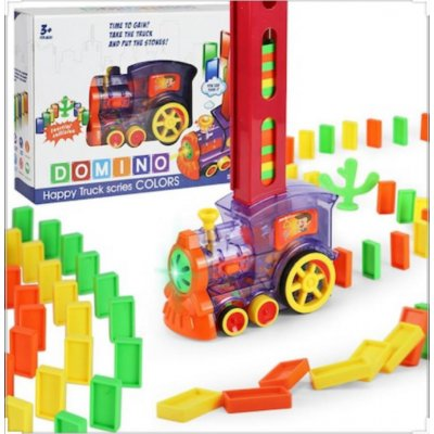 CAN TOYS PİLLİ DOMİNOLU TREN KUTULU