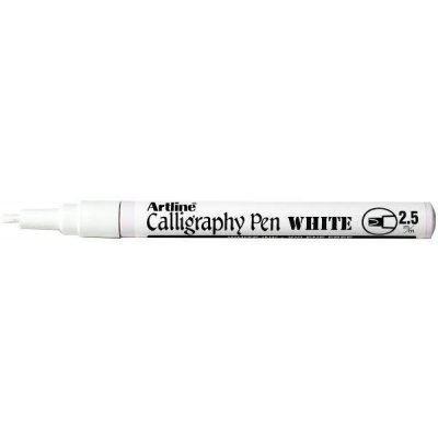ARTLINE993 WHITE CALLIGRAPY METALIIC MARKER