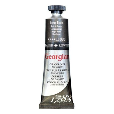 Georgian Yağlı Boya GOC 38ML LAMP BLACK
