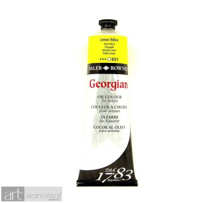 Georgian Yağlı Boya GOC 38ML LEMON YELLOW
